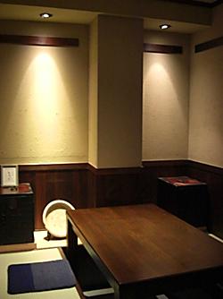 和風個室を3部屋用意して お客様をお待ちしております。